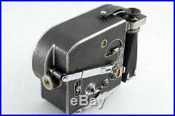EXC+3 Bolex Paillard H16 16mm Cine Camera with 16mm Lens From JAPAN #4012