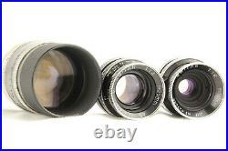 EXC+3 in Genuine CaseBOLEX H16 16mm movie camera + 3 Kern Lenses from JAPAN