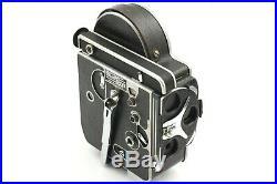 EXC+4 Bolex H16 Reflex 16mm Movie with Kern 25,16,75mm 3 Lens From JAPAN #4104