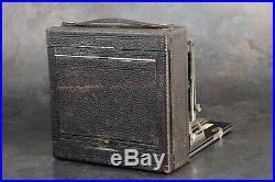 Eastman Kodak Premo No. 9 5x7 Folding Camera with B&L 8½ f8 Lens + Original Case