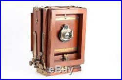 Eastman Kodak View No. 2 Improved Empire State 6½ x 8½ Camera with B&L Lens