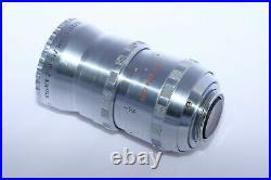Elgeet Cine Navitar 2 inch(50mm) f1.5 16mm movie lens. Micro 4/3, Sony a7 III