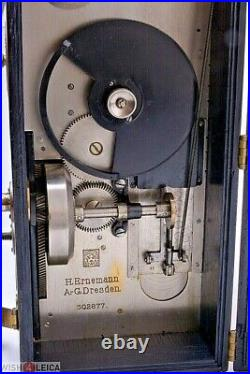 Ernemann A 35mm Motion Picture Camera Hand Cranked tripod & Ernon Len Circa 1908