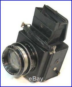 Ernemann Ermanox Reflex camera with Ernostar lens