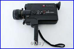 Exc+5 Canon 514 XL Super8 Movie Camera Zoom 9-45mm F/1.4 Lens from Japan