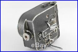 Exc4 Bolex H16 Reflex rex1 16mm Movie film Camera 16,25,75,17.5-70mm 4lens A02