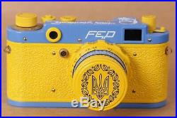 FED-2 Camera Rangefinder 35 mm. Lens 2.8 / 55mm. Leica Exclusive Model Ukraine