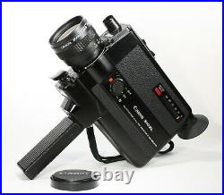 FILM TESTED Boxed Canon 310XL FAST f/1.0 Lens Super 8 Movie Camera READY to USE