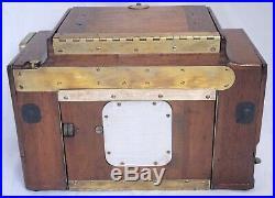 Folmer Schwing Eastman Kodak Zeiss Bausch Lomb Lens Antique Wooden Film Camera