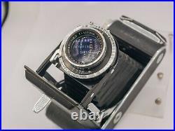 Franka Rollfix II 120 Film 6x9 Folding Camera Rodenstock-Trinar 10.5cm F3.5 Lens