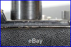 GENUINE WWII LUFTWAFFEN EIGENTUM ROBOT Camera + 75mm lens, case, filter