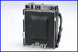 GRAFLEX CROWN GRAPHIC 4X5 CAMERA With OPTAR 135MM F/4.7 LENS