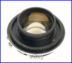 GRAFLEX XLSW FILM CAMERA GROUND GLASS BACK CARL ZEISS PLANAR LENS 12.8 f=80mm