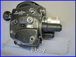 Gorgeous Mint France Beaulieu R16 16mm Movie Camera Vidicon 1.4/50m C-mount Lens