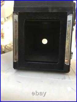 Graflex R. B. Super D 4x5 Camera With Kodak 190mm F5.6 Ektar Lens Tested