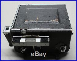 Graflex Speed Graphic 4X5 Press Camera with Scheider Xenar 135mm f/4.7 Lens
