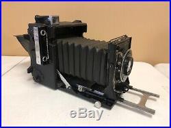 Graflex Speed Graphic Camera with ILEX PARAGON lens