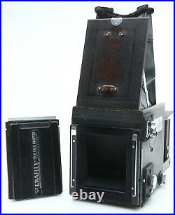 Graflex Super D RB 4X5 Camera 190mm F5.6 Optar Lens tested vintage 1948 390738