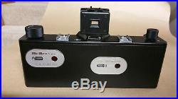 Hi Rez 3d camera body with lens panel, shoots 3d, 2d and 6x17