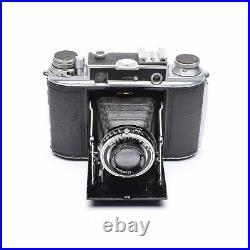 Houghton Ensign Commando Folding Camera with Ensar 75mm f/3.5 Lens c. 1946-50