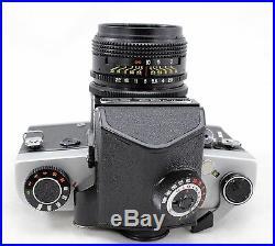 KIEV 60 TTL vintage medium format SLR 6x6 camera, lens MC Volna-3 2.8/80 & more