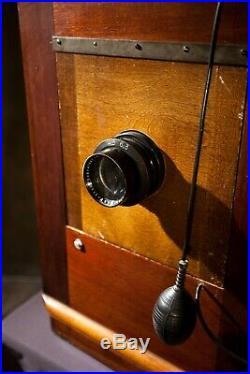 Kodak 10A Century Studio Camera Lens & 1A Semi-Centennial Stand