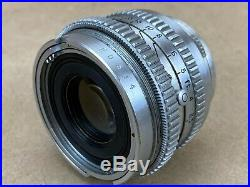 Kodak 50mm f/1.9 Television Ektanon Vintage Lens For Ektra Cameras Rare