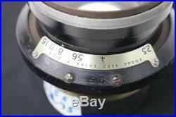 Kodak Aero Ektar 7 F-2.5 Large Format Ariel Vintage Camera Lens