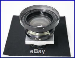 Kodak Aero Ektar 7 F-2.5 Large Format Ariel Vintage Camera Lens with Shroud