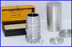 Kodak Ektra set (5) lenses, (3) Finders, (2) extra Backs, Flash, Original BOXES
