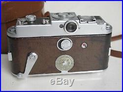 Kodak Ektra with 50mm f1.9 Ektar lens, fitted leather case with strap, NICE