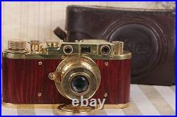 LEICA II D WWII Vintage 35mm Art Camera Ernst Leitz Wetzlar Lens /Zorky FED copy