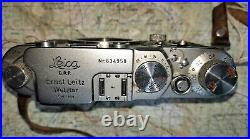 LEICA III F Serviced last year. Good condition, has Lens, Film-Tested