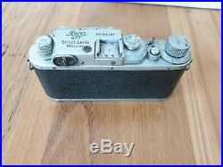 LEICA Leitz 111C Camera with Schneider-Kreuznach Xenogon 35mm f/2.8 lens & case