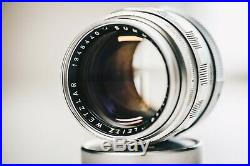 LEICA Leitz SUMMILUX 50mm F1.4 M mount Tested Camera Lens Vintage #1946440