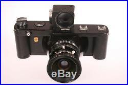 LINHOF TECHNORAMA 617 Panorama Camera 90mm Super Angulon 90/5.6 Lens +Hard Case