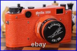 Leica Camera Berlin 1936 Rangefinder 35 mm. Lens 2.8 / 55mm. Vintage (Fed copy)