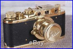 Leica II D Berlin 1936 Camera lens Leitz Elmar Vintage Exclusive\ Fed Zorki copy