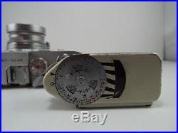 Leica Leitz M3 Double Stroke Rangefinder Camera w. Summicron F=5cm 12 Lens