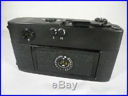 Leica M5 35mm Rangefinder Camera with Leitz Wetzlar Summicron 50mm f2 Lens