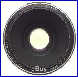 MAKRO-Kilar 12.8/90 C vintage camera lens Heinz Kilfitt Exakta SLR mount f=90mm