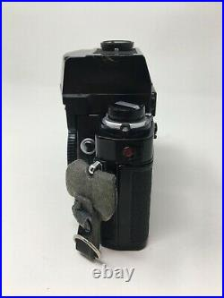 MINOLTA XK 35mm Camera Body Black No Lens Looks Good