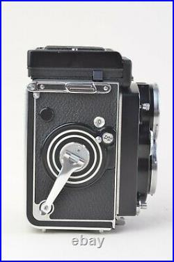 MINT- ROLLEI ROLLEIFLEX 2.8F TLR CAMERA withZEISS PLANAR 80mm 2.8 LENS, CASE READ