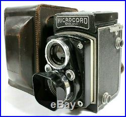 MPP Microcord TLR Film Camera 77.5mm f/3.5 Xpres Lens Case Hood UK Fast Post