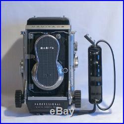 Mamiya C3 Professional Vintage Camera with Mamiya Sekor 12.8 80mm Lens