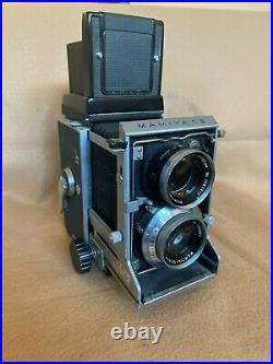Mamiya C3 Tlr Camera Vintage 105 MM Lens