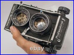Mamiya C330 Professional F 120 Film TLR Camera & Sekor 80mm F2.8 Lens Read