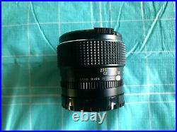 Mamiya Sekor C 80mm f/1.9 Vintage Lens for Mamiya 645 or Mirrorless Cameras