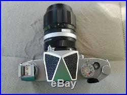Miranda Sensomat RE Two lens's Japan Vintage Camera Soligor tele auto 135mm