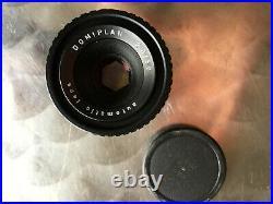 NICE! PENTACON Camera EXA Ib 1b & lens DOMIPLAN 2,8/50mm M42 BOXED